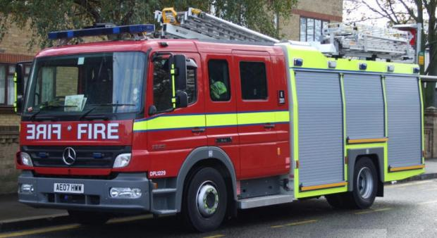 Man rescued from flat by neighbour after chip pan fire