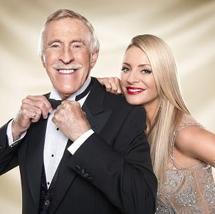 This Is Lancashire: Sir Bruce Forsyth said it wasn't easy telling his Strictly Come Dancing co-host Tess Daly of his exit from the show
