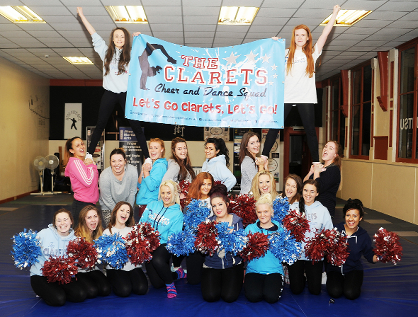 Clarets Cheer and Dance