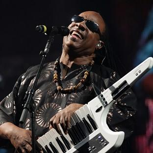 Stevie Wonder has signed up for the two-d