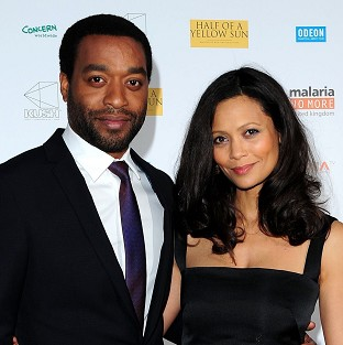 Chiwetel Ejiofer and Thandie Newton at the premiere of Half of A Yellow Sun