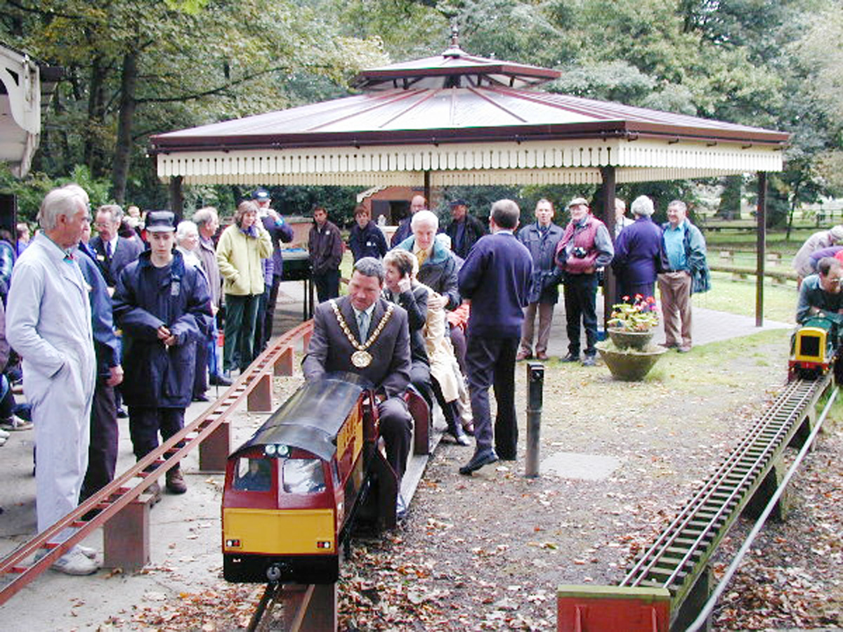 Tiny trains group in Leyland lands £10,000