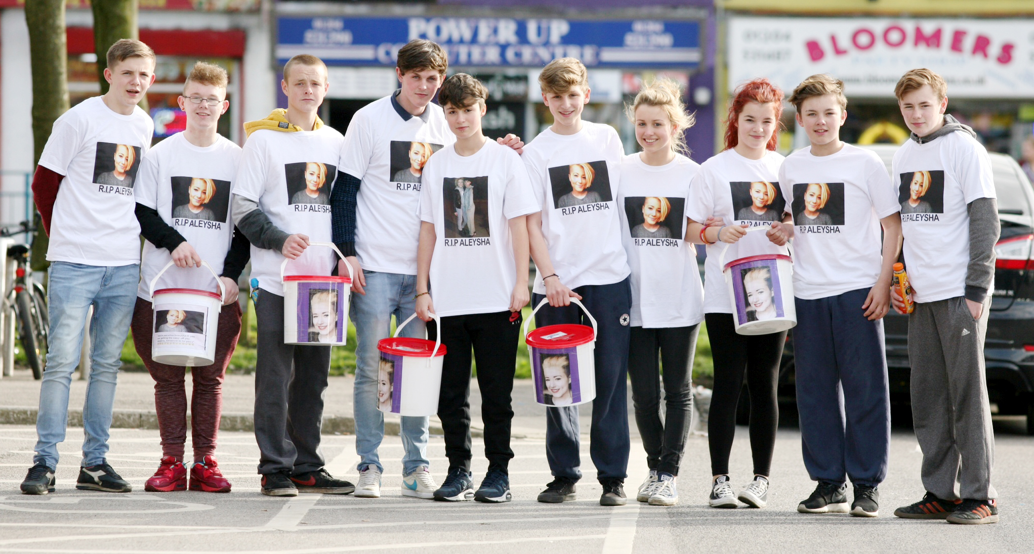 VIDEO: Tragic Aleysha Rothwell's friends hold second memory walk to raise money for headstone