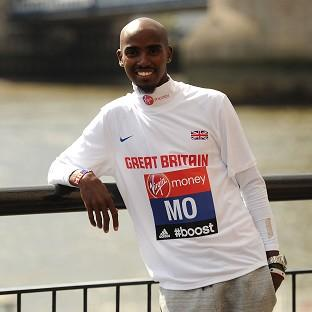 Mo Farah is one of the favourites to complete the 26.2-mile London Marathon course ahead of the field