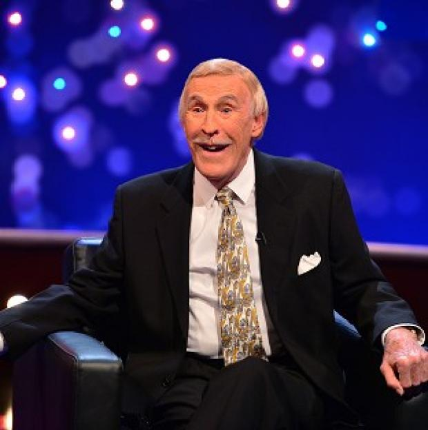 This Is Lancashire: Sir Bruce Forsyth said he got 'tired doing live telly'.