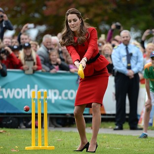 Kate stands firm on sticky wicket
