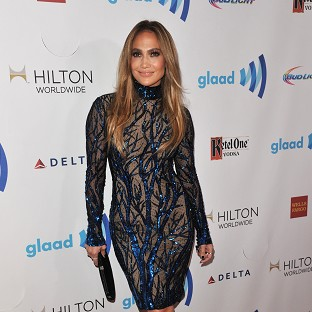 Jennifer Lopez was honoured at the GLAAD Media Awards