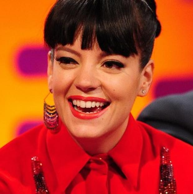 This Is Lancashire: Lily Allen says her husband has asked her to tone down her performances
