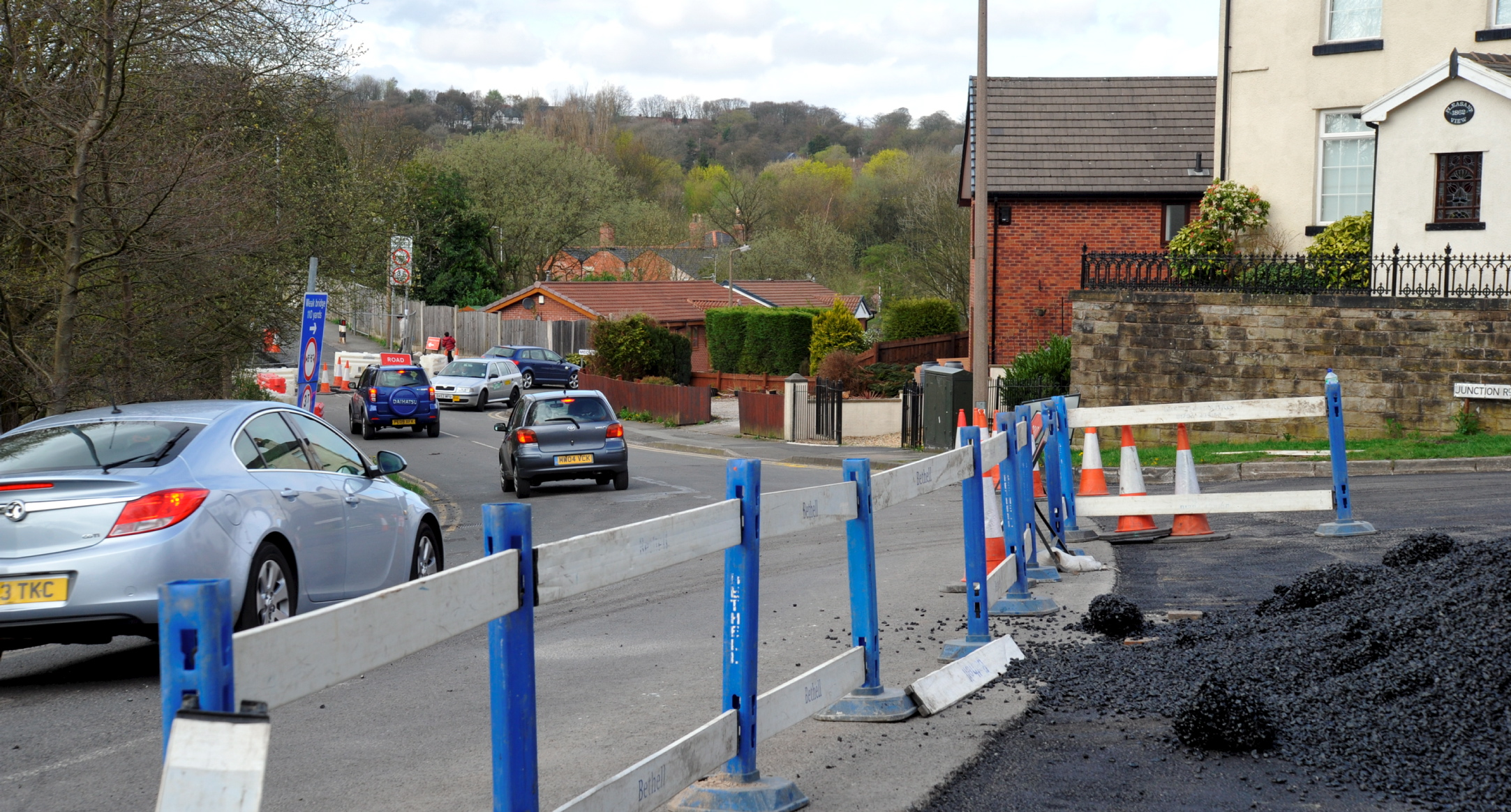 Roadworks causing traffic chaos in Lostock
