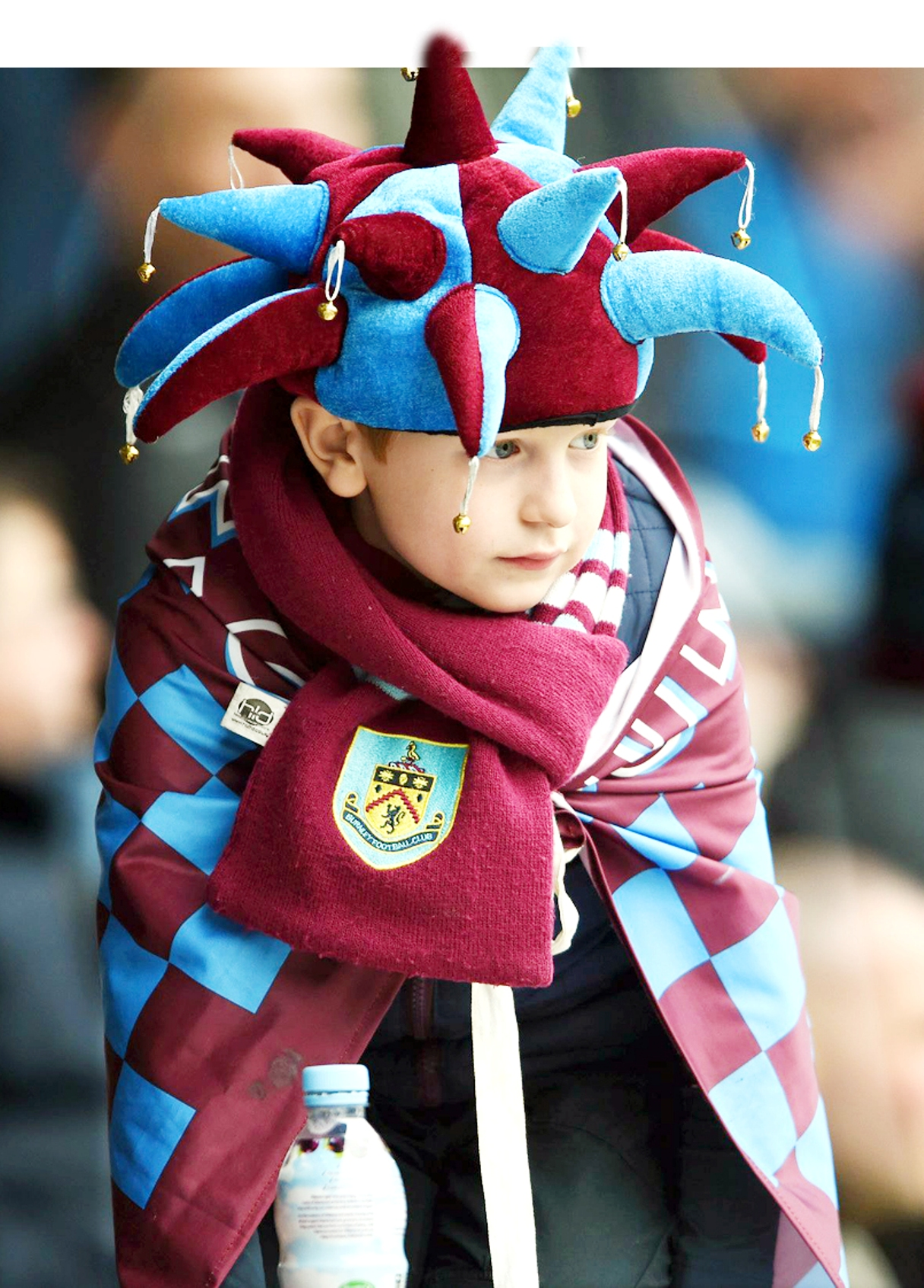 A young Burnley fan is denied a promotion party on Saturday