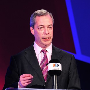 Ukip leader Nigel Farage.