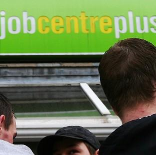 This Is Lancashire: Unemployment fell by 77,000 in the three months to February to 2.24 million, a jobless rate of 6.9%, the lowest for five years