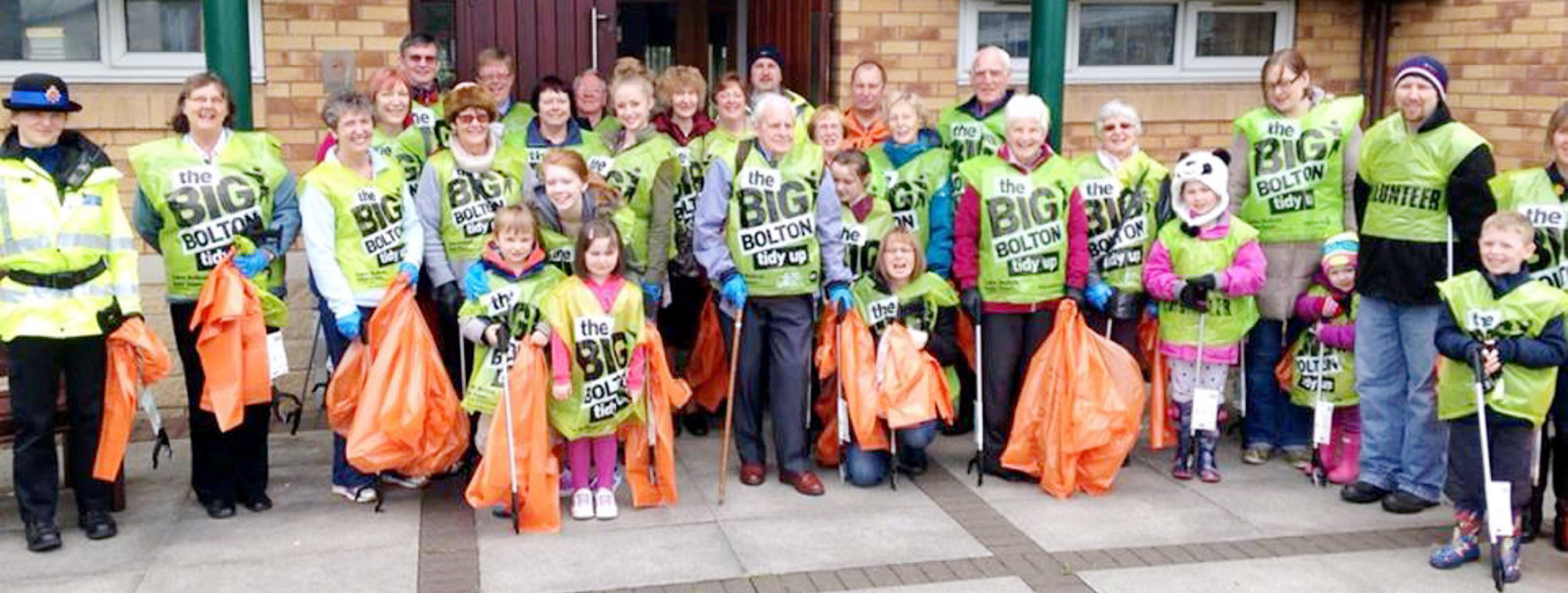 Little Lever worshippers do litter pick instead of walk of witness