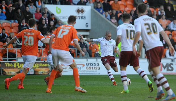 This Is Lancashire: FULL TIME: Blackpool 0-1 Burnley