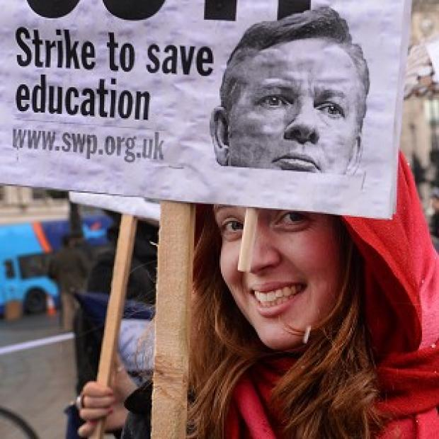 This Is Lancashire: Schools are to face widespread disruption after teachers voted to stage further strikes