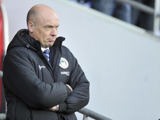 This Is Lancashire: Wigan Athletic manager Uwe Rosler