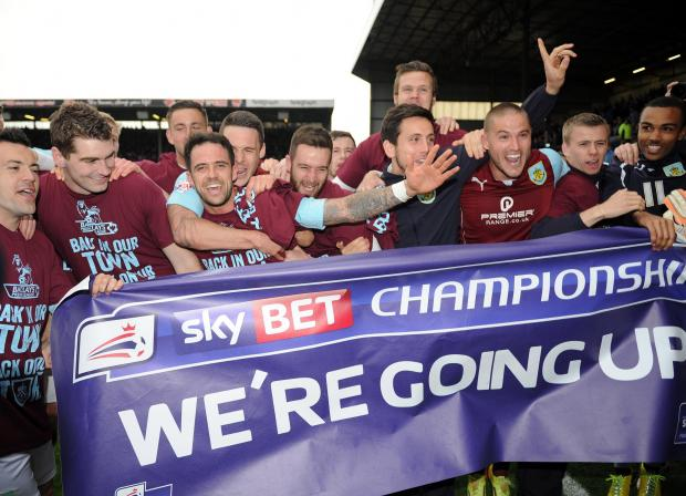 African youngsters join in Clarets' celebrations