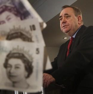 Mr Salmond will again insist that Scotland will keep the pound, despite the pointed refusal of all major UK parties to agree to a currency union