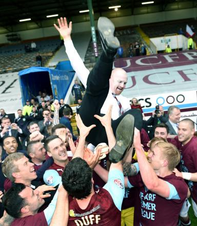 Andy Lochhead: Fantastic promotion such a joy to witness