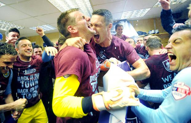 This Is Lancashire: SUZANNE GELDARD looks back at an historic season for the Clarets