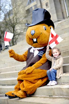 The Little Lever Beaver with Max Dean, aged four