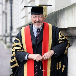 This Is Lancashire: Griff Rhys Jones has ruled himself out of becoming Cardiff University's new figurehead