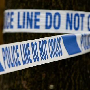 Police have arrested a 15-year-old boy over the murder of a man during a break-in