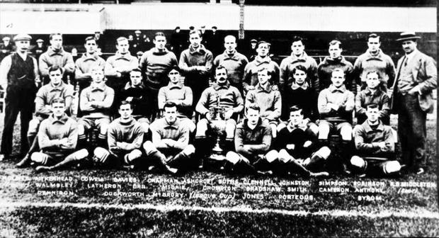 The title-winners that Cotton built, the story of Rovers heroes of 1914