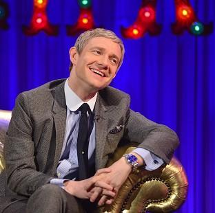 This Is Lancashire: Martin Freeman has revealed Sherlock's writers are planning an exciting one-off special (Open Mike)