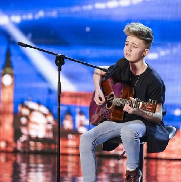 This Is Lancashire: Bailey McConnell performing on Britain's Got Talent.