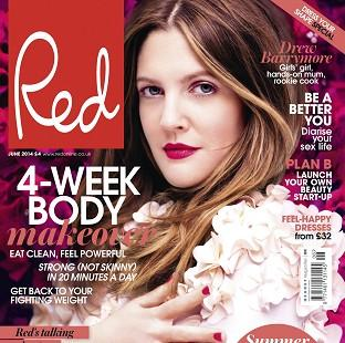 Drew Barrymore was speaking to Red magazine
