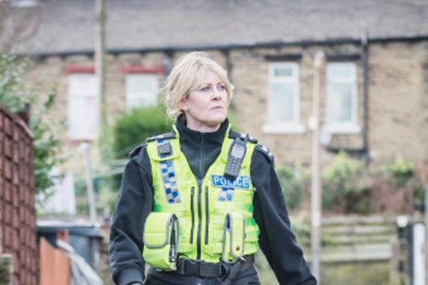 Sarah Lancashire in her new role in Happy Valley