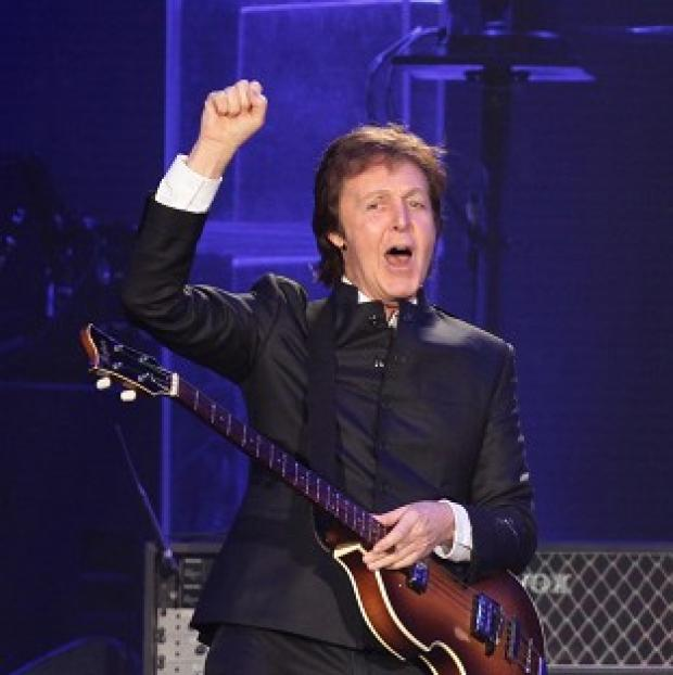 This Is Lancashire: Sir Paul McCartney has played a gig at 2,800 metres above sea level.