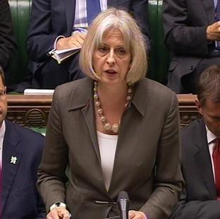 This Is Lancashire: Home Secretary Theresa May is one of three female Cabinet members