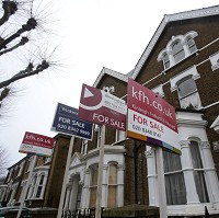 House prices rise in double figures