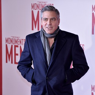 George Clooney helped design his fiancee's ring