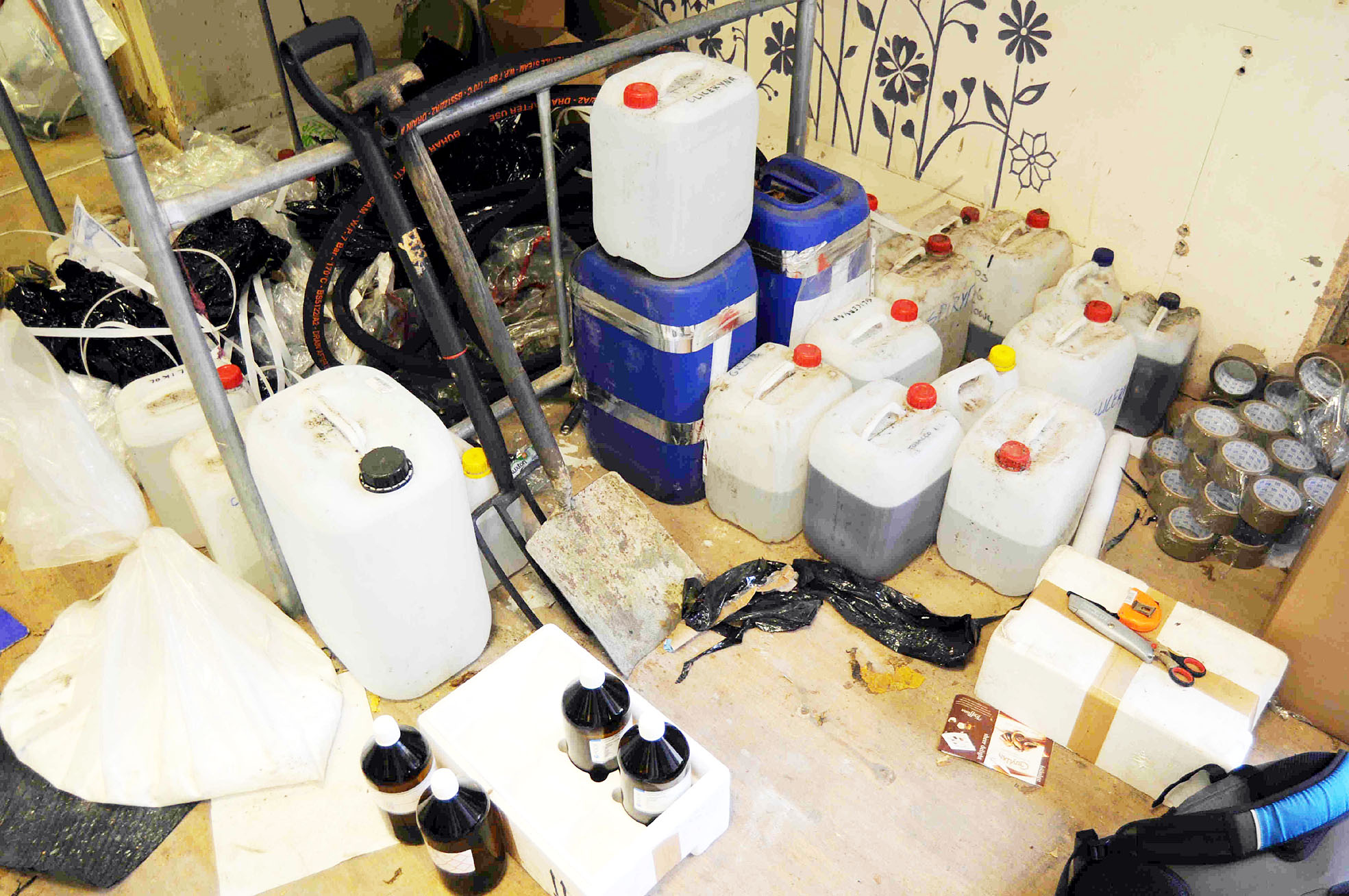 Counterfeit cigarette and tobacco equipment seized in Bury raids
