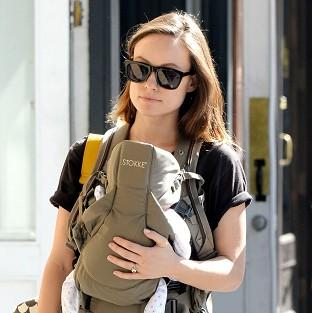 Olivia Wilde gave birth to her son Otis Alexander Sudeikis on April 23 (Rex)