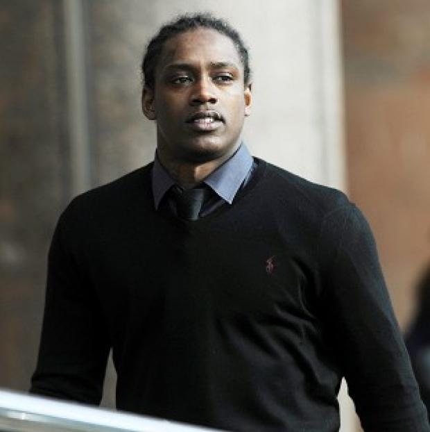 This Is Lancashire: Nile Ranger is on bail awaiting trial charged with criminal damage