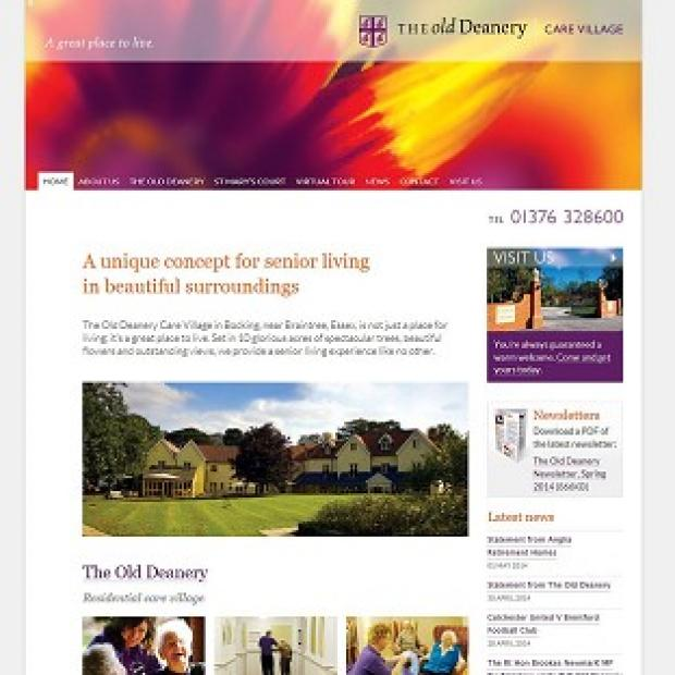 This Is Lancashire: The home page of the Old Deanery Care Home in Braintree, Essex, run by Anglia Retirement Homes Ltd