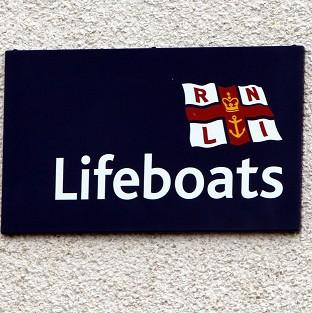 Two RNLI lifeboats and two nearby