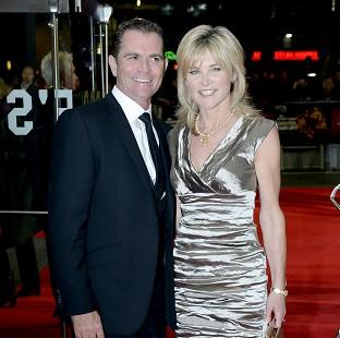 Anthea Turner said her weight plummeted after her 13-year-marriage to Grant Bovey ended last year