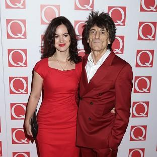 Ronnie Wood is selling a naked painting of his wife Sally Humphreys