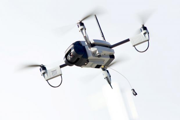 "The ""air imagery unit"" can ascend to 400 feet"