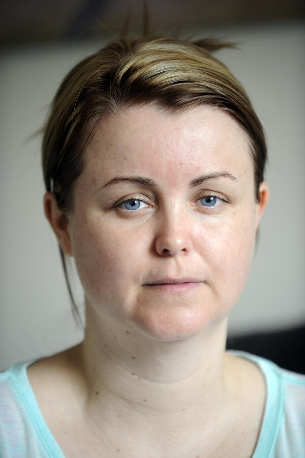 This Is Lancashire: Stroke victim Nichola Farrelly