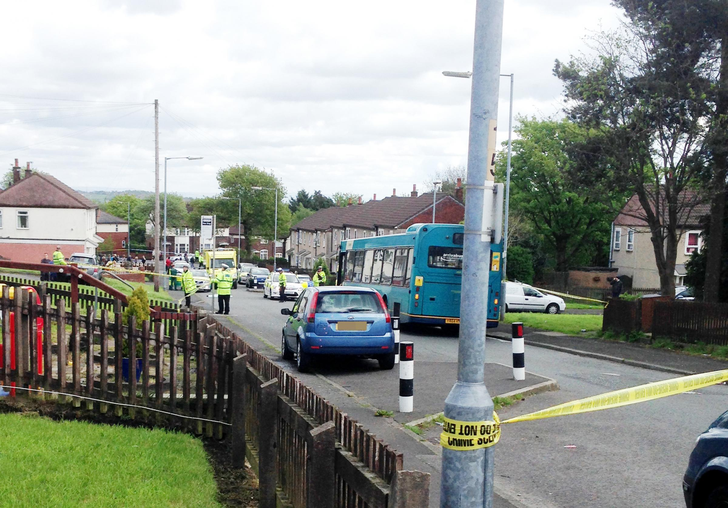 Delroy Finney named as man killed in Astley Bridge bus accident