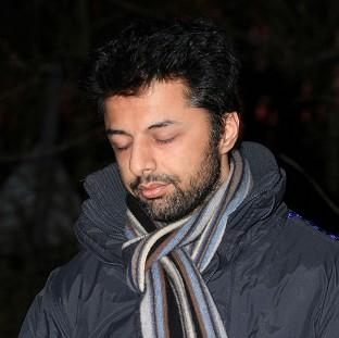 This Is Lancashire: Shrien Dewani made a brief appearance in court