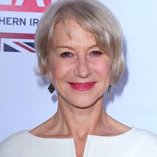 Dame Helen Mirren says she'd like to design dressing gowns