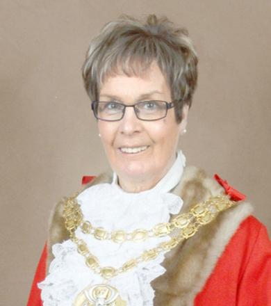 CEREMONY The Mayor of South Ribble, Coun Dorothy Gardner