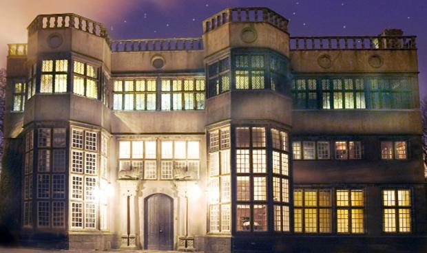 SPECIAL SPECTACLE: Astley Hall lit up on a previous occasion